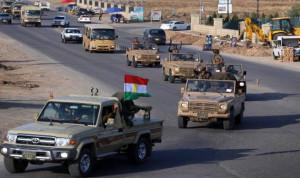 """قوات البيشمركة و""""الجيش السوري الحر"""" في طريقها إلى كوباني"""