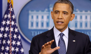 أوباما يؤكد للكونغرس ان الغارات في العراق تحمي المصالح الاميركية