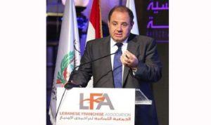 """لبنان: """"الفرنشايز"""" يرفد نحو 5 في المئة إلى الناتج المحلي الإجمالي"""