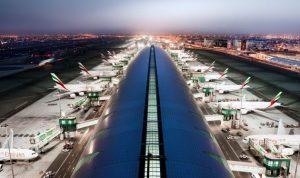مطارات دبي تسيطر على حركة التجارة العالمية