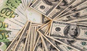 هبوط الدولار واليورو