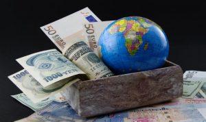 العلاقة بين التغيير المناخي والإنهيار الإقتصادي