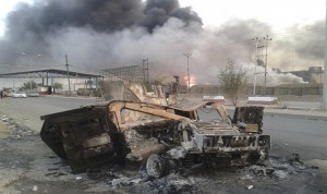 مقتل واصابة 33 شخصا بتفجير انتحاري شرقي بغداد