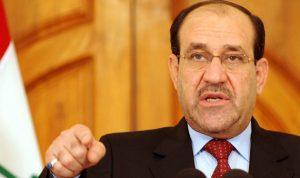 المالكي يرفض إقامة دولة كردية
