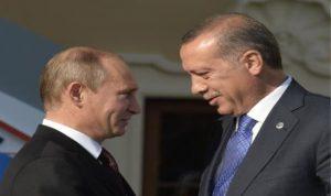 بوتين وأردوغان ناقشا مسائل الطاقة