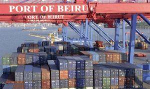 مرفأ بيروت يسجل رقماً قياسياً في تداول الحاويات…الإدارة تزيد المسافنة لتعويض تراجع الاستيراد للاستهلاك المحلي
