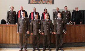 أربعة ضباط في الامن العام يقسمون اليمين القانونية