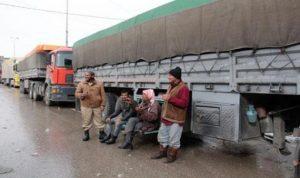 مليون دولار لإعادة الشاحنات وسائقيها إلى لبنان