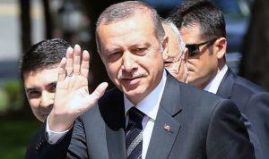 أردوغان غادر طهران