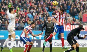 أتلتيكو مدريد يشدد الخناق على برشلونة وريال مدريد