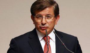 """أوغلو يؤكد لـ بان حق تركيا في الدفاع عن نفسها ضد """"الإرهاب"""""""
