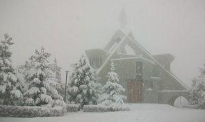 """""""يوهان"""" يحمل المزيد من الأمطار والعواصف والثلوج تتساقط على 800 متر"""