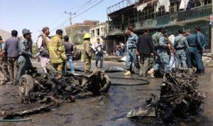 مقتل 15 شخصًا بينهم 3 أطفال بتفجير إنتحاري في أفغانستان