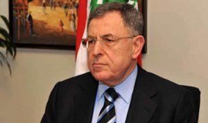 السنيورة استنكر قرار الكنيست الإسرائيلي الأخير