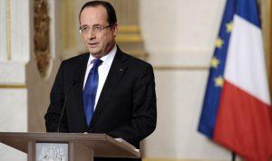 هولاند: سلمنا أسلحة للمعارضة السورية
