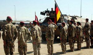 ألمانيا سترسل 100 جندي الى إربيل ووزارة البيشمركة ترحّب