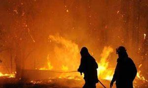 حريق في منزل عمال سوريين في كفرتبنيت