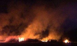 حريق غابات في كاليفورنيا يهدد المنازل