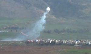 بالفيديو.. الهدوء يسود المناطق الحدودية بعد قصف إسرائيلي محدود