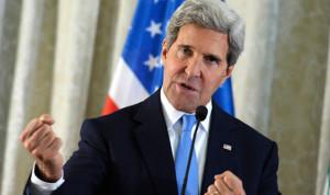 "كيري: حرّضونا على ""قصف إيران"""