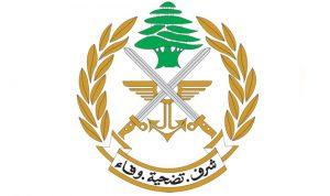 الجيش: توقيف 55 سوريا لتجولهم من دون اوراق قانونية