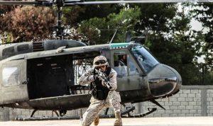 مناورة للجيش والأجهزة الأمنية في حامات