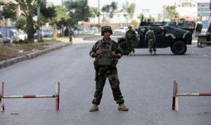 الجيش: تدابير أمنية مشددة في مختلف المناطق لمناسبة الأعياد
