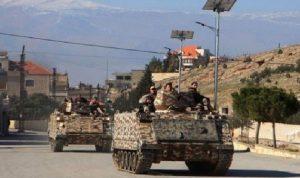الجيش: توقيف 56 مطلوبًا في البقاع و18 سيارة من دون أوراق و2 طن من مادة الحشيشة