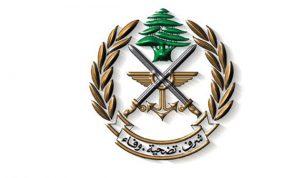الجيش:5 طائرات استطلاع وحربية اسرائيلية تخرق الاجواء اللبنانية