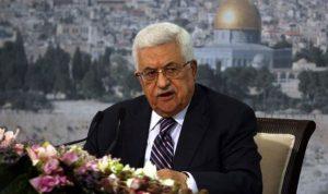 إسرائيل تقترح منع الرئيس الفلسطيني من العودة للضفة