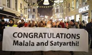 بالصور.. ملالا أصغر فائزة بجائزة نوبل