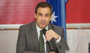 معوّض في ختام زيارته إلى أستراليا: لبنان يمر في مرحلة صعبة