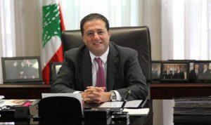 شقير عرض مع وفد غرفة التجارة اللبنانية الاسترالية يرافقه مايلز تعزيز العلاقات بين البلدين
