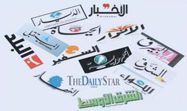 أسرار الصحف المحلية الصادرة يوم الاثنين في 17 آذار 2014