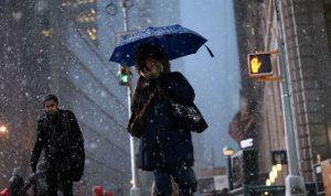 بالصور والفيديو… عواصف وبرد في أميركا
